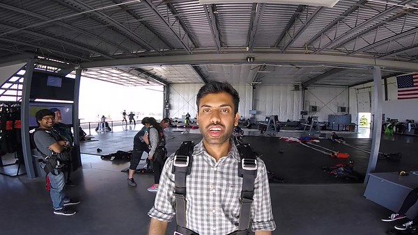 1828 Surya Duddu Skydive at Chicagoland Skydiving Center 20170527 Leonard Len