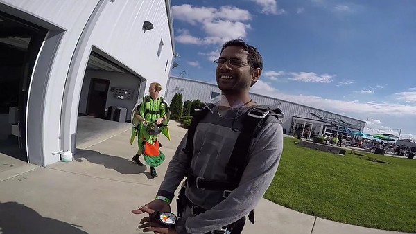 1812 Venkat Sai Raxit Skydive at Chicagoland Skydiving Center 20170527 Cody Cody