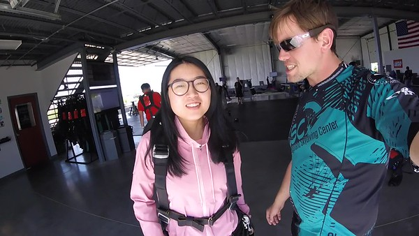 1607 MENGZHU HE Skydive at Chicagoland Skydiving Center 20170528 Eric