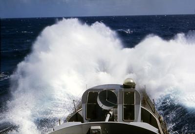 Typhoon - 800 miles away