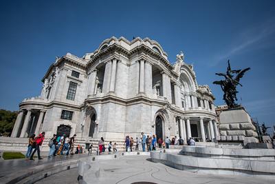 The Palace of Beautiful Arts.