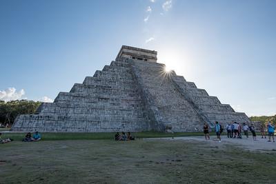 El Castillo.  The Temple of Kukulcan.