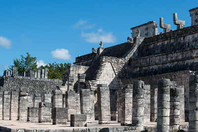 The Mayan market.