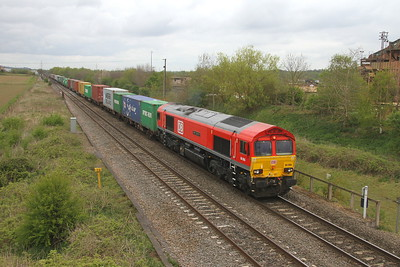 66066 Wichnor Junction 13/04/17 4L07 Burton On Trent to Felixstowe