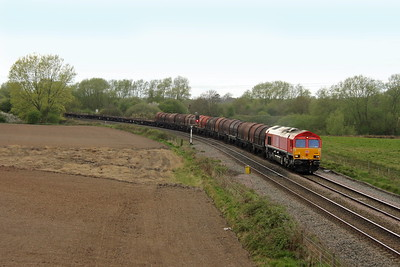 66009 Stenson Junction 13/04/17 6E79 Wolverhampton Steel Terminal to Immingham Sorting Sidings