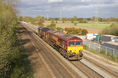 66238 Stenson Junction 13/04/17 6G45 Toton to Bescot with 66088