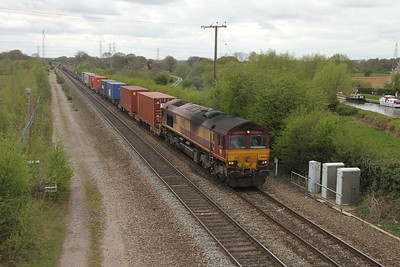 66063 Stenson Junction 13/04/17 4Z69 Southampton to Masborough