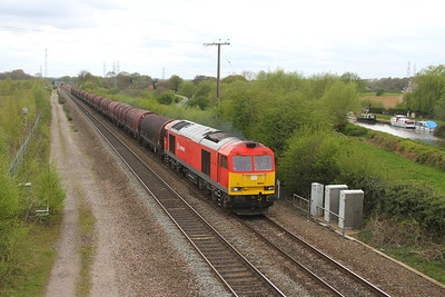 60054 Stenson Junction 13/04/17 6E08 Wolverhampton Steel Terminal to Masborough