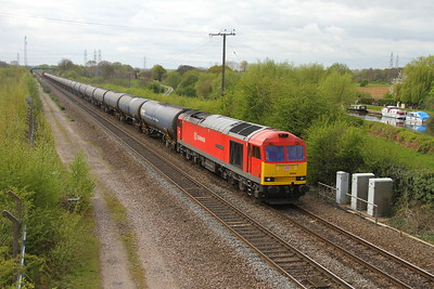 60059 Stenson Junction 13/04/17 6E54 Kingsbury to Humber