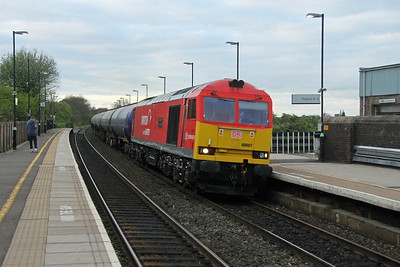 60007 Tamworth 13/04/17 6M00 Humber to Kingsbury