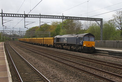 66302 Tamworth 12/04/17 6U76 Crewe to Mountsorrel