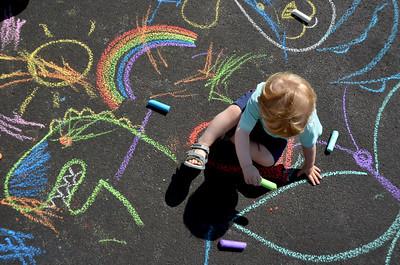 Milo Chalk Art (July 2017)