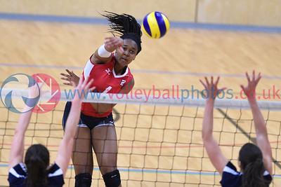 International Volleyball England 1 v 3 Scotland (25-22, 20-25, 20-25, 18-25), Sport Central, Northumbria University, 27 May 2017.   © Lynne Marshall   http://www.volleyballphotos.co.uk/2017/Misc/20170527-England-v-Scotland/