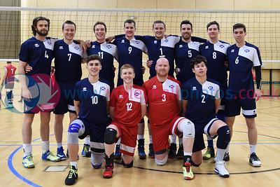International Volleyball England 3 v 1 Scotland (25-18,21-25, 25-12, 25-21), Sport Central, Northumbria University, 28 May 2017.   © Lynne Marshall   http://www.volleyballphotos.co.uk/2017/Misc/20170528-England-v-Scotland-Men/
