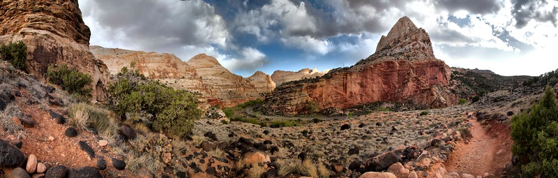 Hickman Bridge Trail, Capitol Reef National Park, Utah