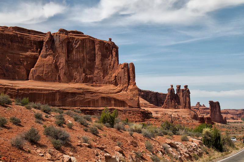 Three Gossips, Arches National Park, Moab, UT 84532