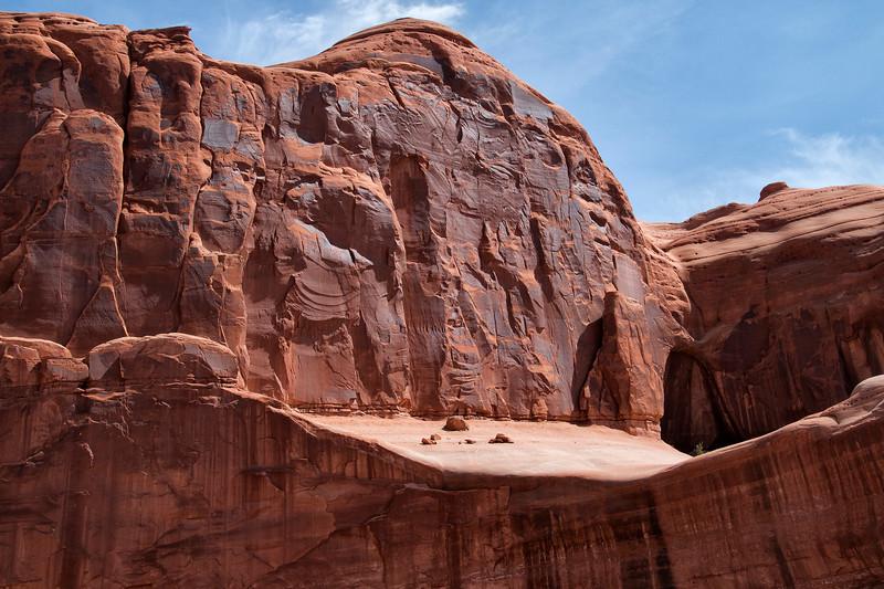 Park Avenue Overview, Arches National Park, Moab, UT 84532