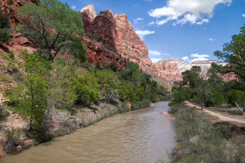 Virgin River, Emerald Pools Trail, Zion National Park, Utah