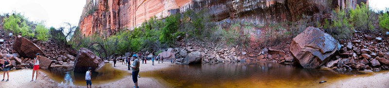Upper Emerald Pool, Emerald Pools Trail, Zion National Park, Utah