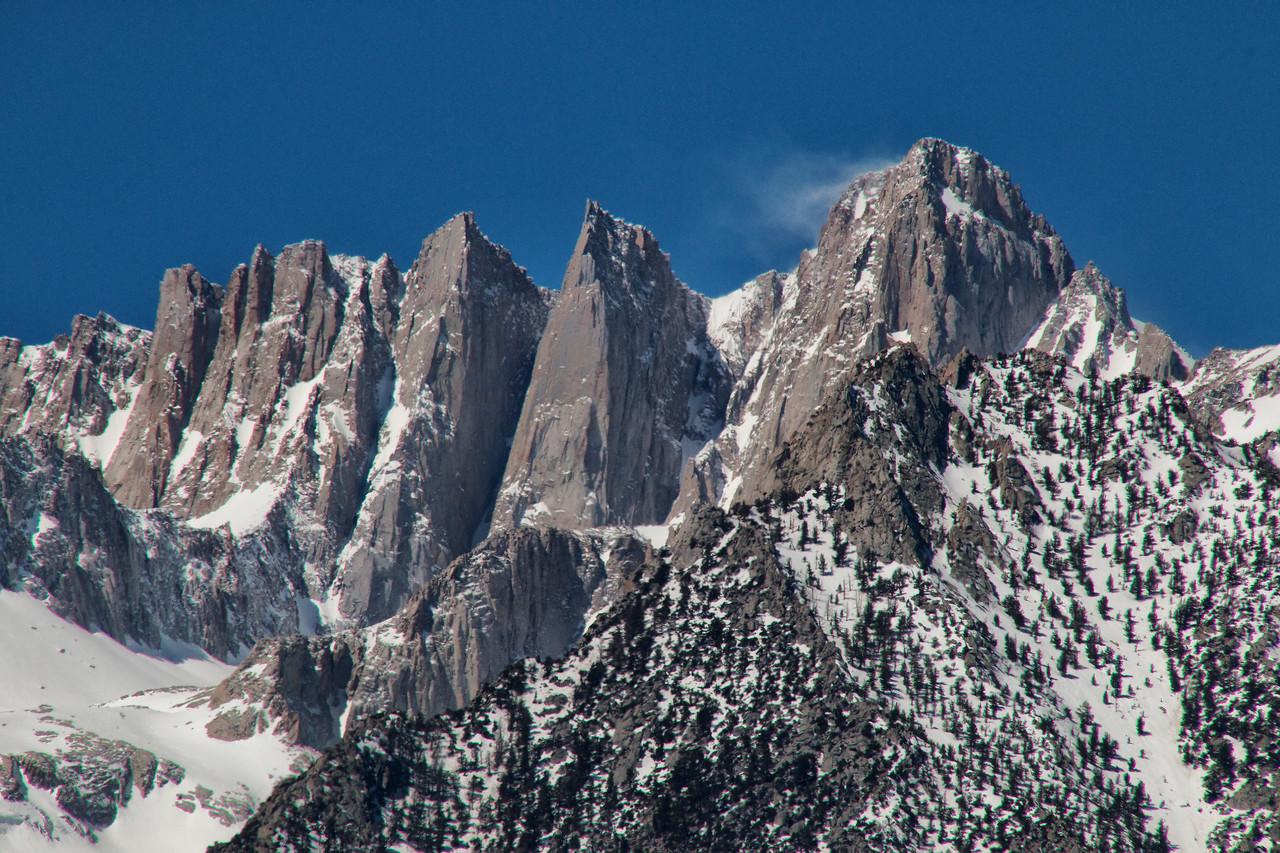 Sierra Nevada Mountains, Movie Flats Road, Lone Pine, California'