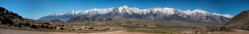 Sierra Nevada Mountains, Movie Flats Road, Lone Pine, California