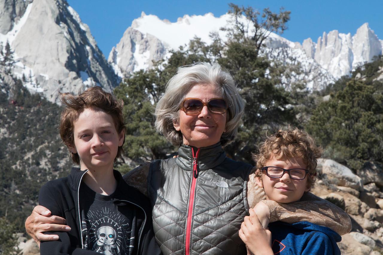 Sierra Nevada Mountains, Whitney Portal Road, Lone Pine, California