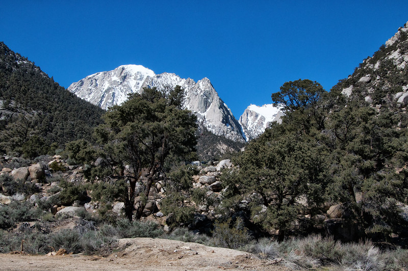 Sierra Nevada Mountains, Whitney Portal Road, Lone Pine, California