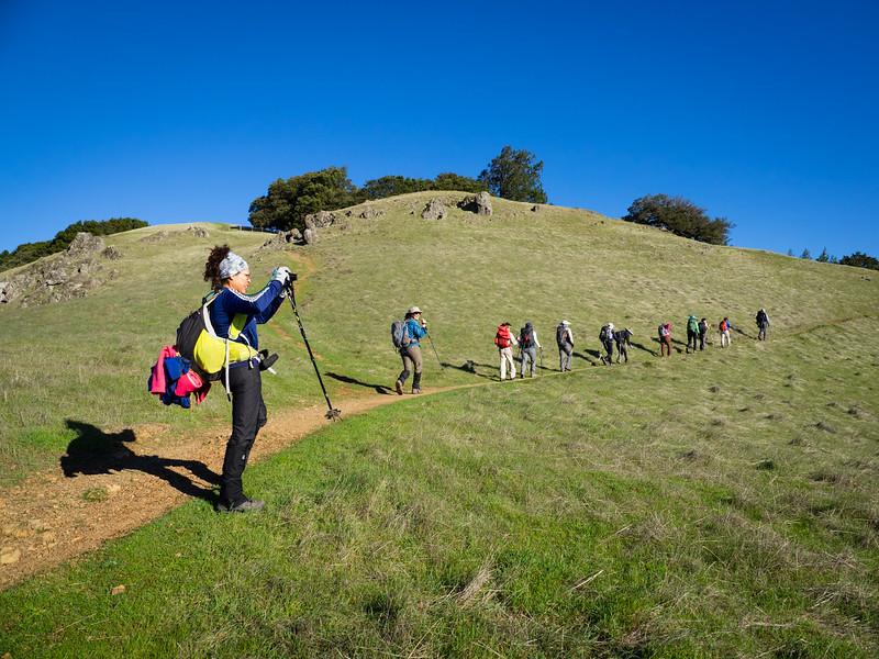 Climbing to Rock Spring