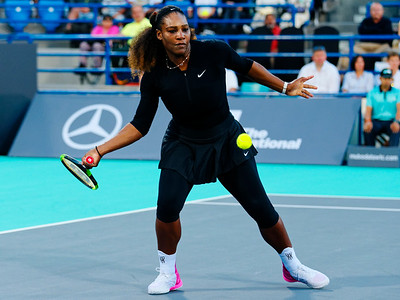 01.04a Serena Williams - Mubadala WTC 2017