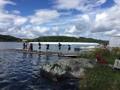 HJA 4X - Gullbåten på vei ut