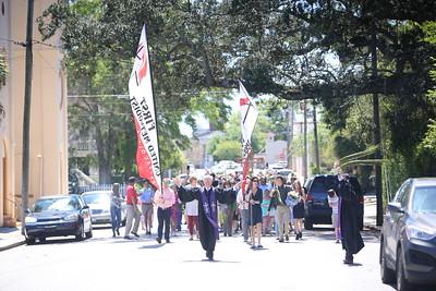 Neighborhood Palm Sunday Parade