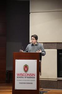 Kai Rasmussen presenting Cosmos