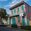 This is called a shotgun house, which is a typical New Orleans architectural style