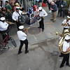 An improptu jazz concert near Jackson Square