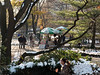 Central Park, snack stand
