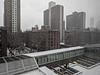 Snow shower, NInth Ave.
