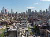 New York City view uptown from Google in Chelsea