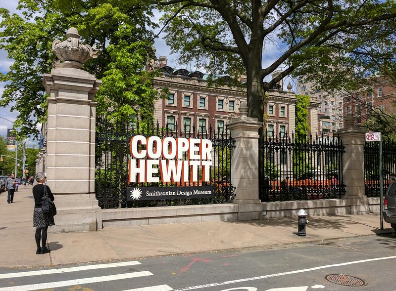 The Cooper Hewitt Design Museum, at Andrew Carnegie's former mansion