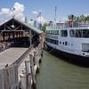 Docking on Ellis Island