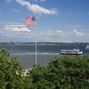 New York Harbor from Ellis Island
