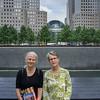Shell & Jo at the 9/11 Memorial