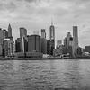 The Manhattan skyline from Brooklyn