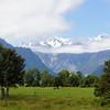 Mount Hood and Mount Tasman from Lake Mathison Park