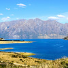 """View of Lake Hawea from """"The Neck"""""""