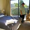 Master bedroom of Lake Hawea Bach