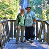 Anne and William at Thunder Creek Falls