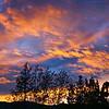 Sunrise at Lake Hawea Bach
