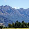Mountains along Haast Higway