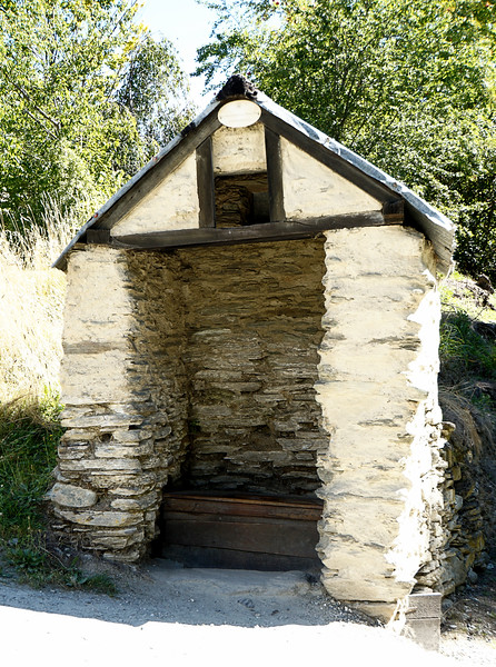 Outhouse for the Chinese Settlement in Arrowtown