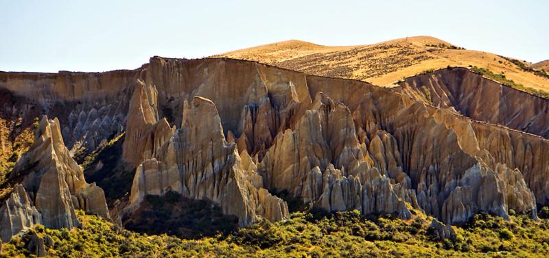 Clay Cliffs near Omarama